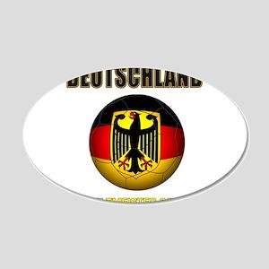 Deutschland Weltmeister 2014 Wall Decal