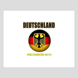 Deutschland Weltmeister 2014 Posters