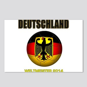 Deutschland Weltmeister 2014 Postcards (Package of