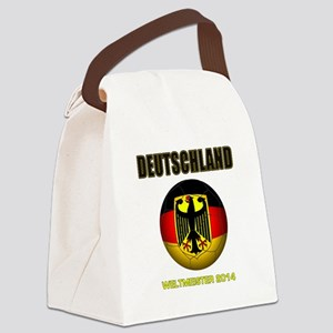 Deutschland Weltmeister 2014 Canvas Lunch Bag