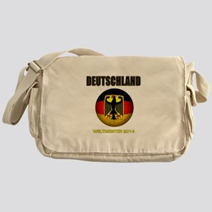 Deutschland Weltmeister 2014 Messenger Bag