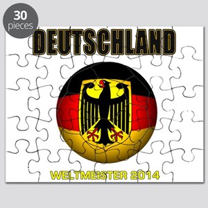 Deutschland Weltmeister 2014 Puzzle
