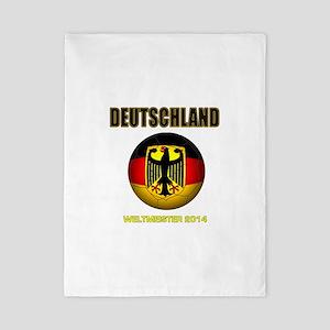 Deutschland Weltmeister 2014 Twin Duvet