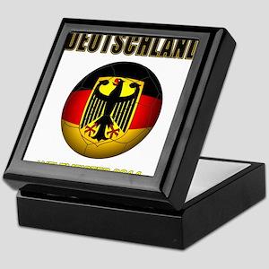 Deutschland Weltmeister 2014 Keepsake Box