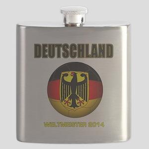 Deutschland Weltmeister 2014 Flask