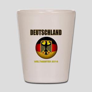 Deutschland Weltmeister 2014 Shot Glass