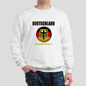 Deutschland Weltmeister 2014 Sweatshirt
