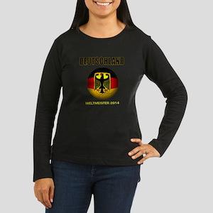 Deutschland Weltmeister 2014 Long Sleeve T-Shirt