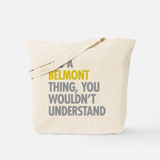 Belmont Bronx NY Thing Tote Bag