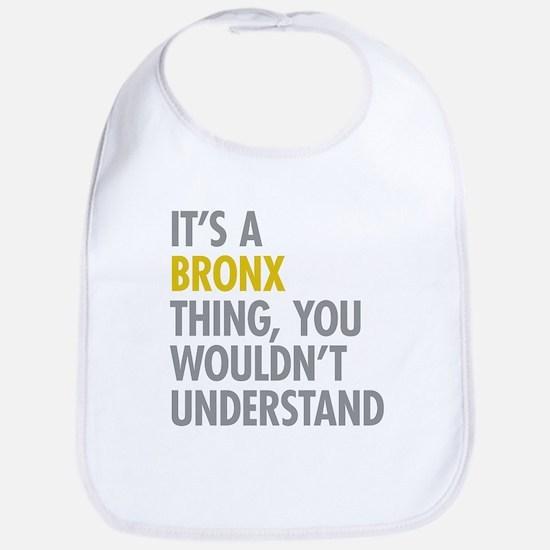 Bronx NY Thing Bib
