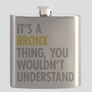 Bronx NY Thing Flask