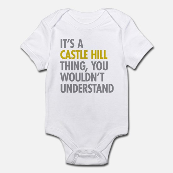 Castle Hill Bronx NY Thing Infant Bodysuit