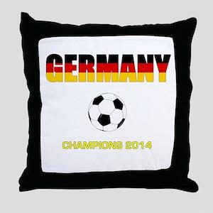 Germany World Champions 2014 Throw Pillow