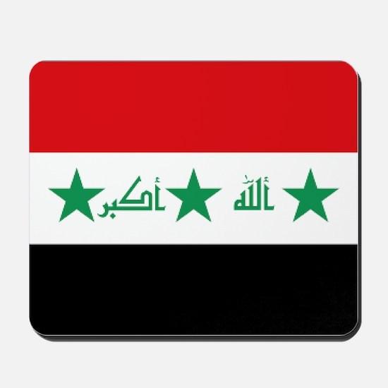 Flag of Iraq Mousepad