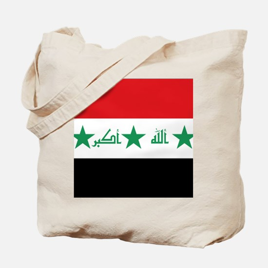Flag of Iraq Tote Bag