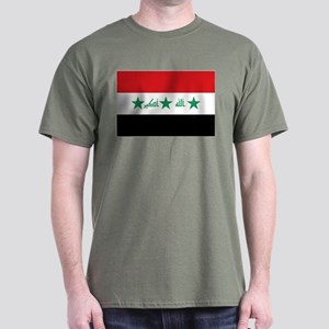 Flag of Iraq Dark T-Shirt