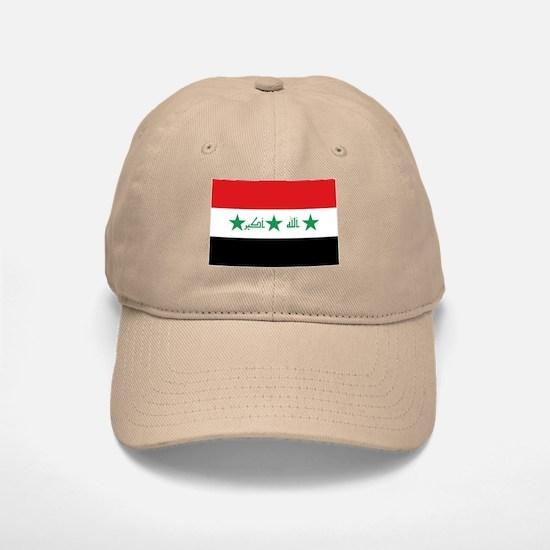 Flag of Iraq Baseball Baseball Cap
