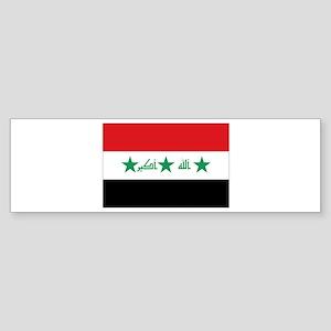 Flag of Iraq Sticker (Bumper)