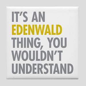 Edenwald Bronx NY Thing Tile Coaster