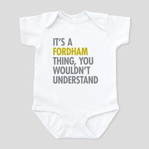 Fordham Bronx NY Thing Infant Bodysuit