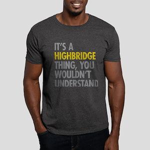 Highbridge Bronx NY Thing Dark T-Shirt