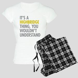 Highbridge Bronx NY Thing Women's Light Pajamas