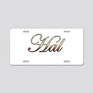 Hal Aluminum License Plate