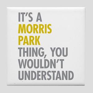 Morris Park Bronx NY Thing Tile Coaster