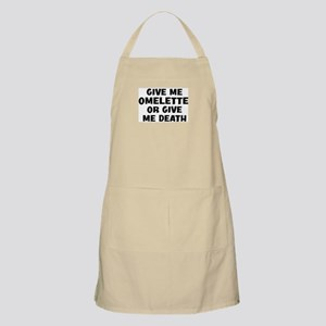 Give me Omelette BBQ Apron