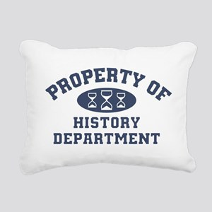 Property Of History Department Rectangular Canvas