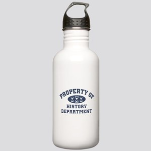 Property Of History Department Water Bottle