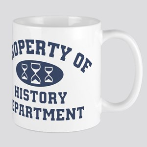 Property Of History Department Mugs