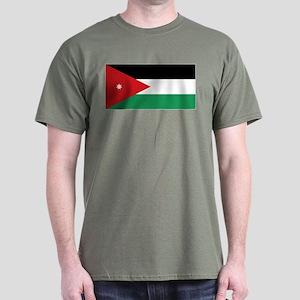 Flag of Jordan Dark T-Shirt