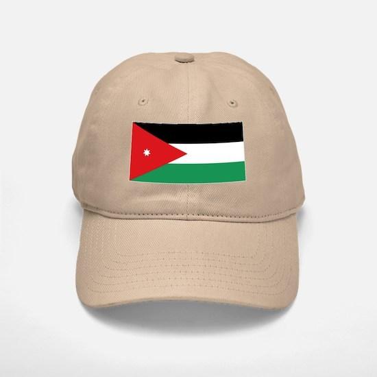 Flag of Jordan Baseball Baseball Cap