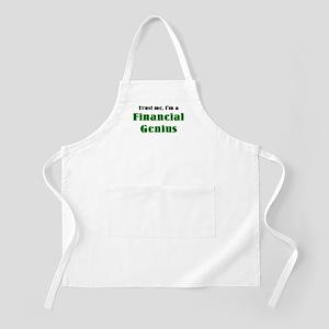 financial genius Apron