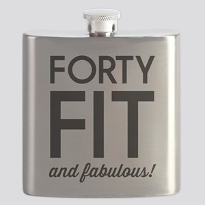 40 Fit and Fabulous! Flask