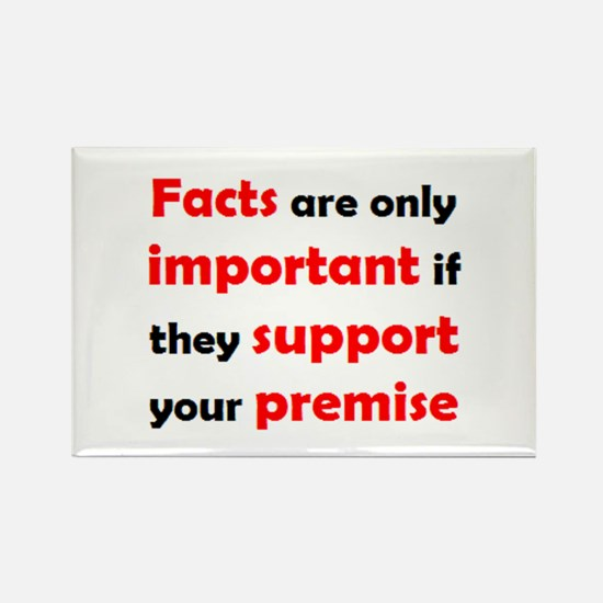 facts important Rectangle Magnet