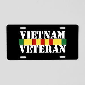 Vietnam Veteran Aluminum License Plate