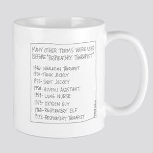 Respiratory Therapist History Mugs