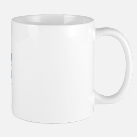 My Coastie gives me butterfli Mug
