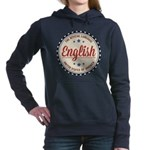 USA Official Language Women's Hooded Sweatshirt