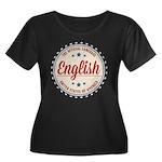USA Official Language Plus Size T-Shirt