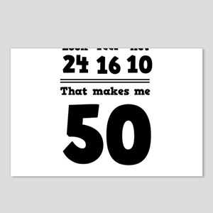 Age 50 Breakdown Postcards (Package of 8)
