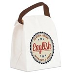 USA Official Language Canvas Lunch Bag