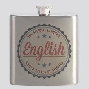 USA Official Language Flask