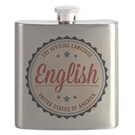 USA Official Language Flask