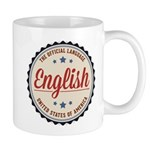 USA Official Language Mugs
