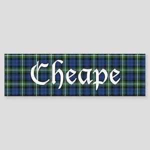 Tartan - Cheape Sticker (Bumper)