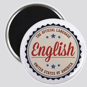 USA Official Language Magnets