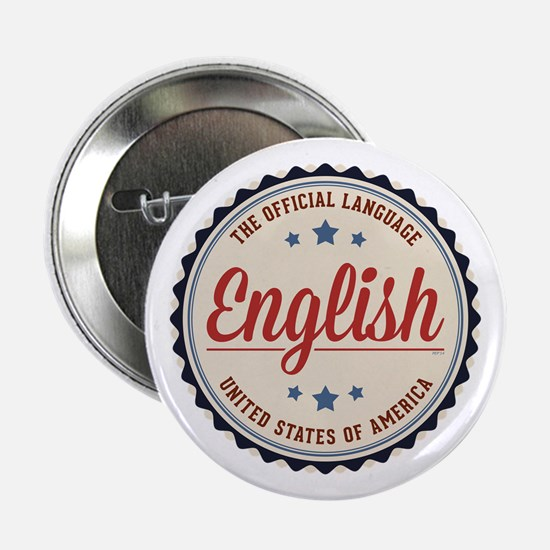 "USA Official Language 2.25"" Button"
